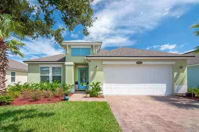St Augustine Single Family Home For Sale: 393 Ocean Cay Blvd.