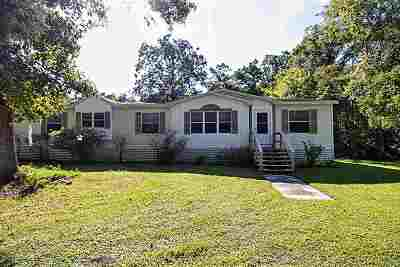 St Augustine Single Family Home For Sale: 1900 Isherwood Ter