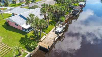 Flagler Beach FL Single Family Home For Sale: $374,900