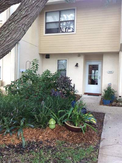 St Augustine FL Townhouse For Sale: $239,500