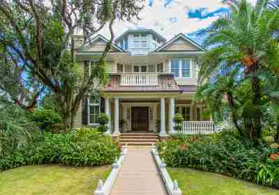 St Augustine Beach FL Single Family Home For Sale: $2,890,000