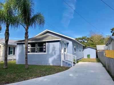 St Augustine FL Single Family Home For Sale: $204,900