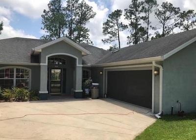 Palm Coast Single Family Home For Sale