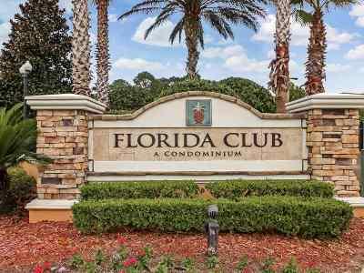 St Augustine Condo For Sale: 550 Florida Club #208