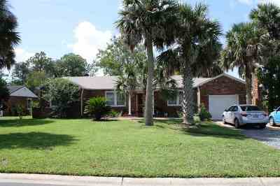 St Augustine FL Single Family Home For Sale: $399,900