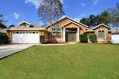 Palm Coast Single Family Home For Sale: 37 Woodborn Lane