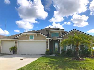 St Augustine Single Family Home For Sale: 542 Deer Crossing