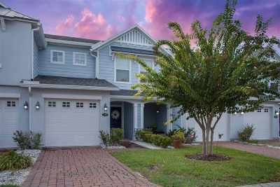 St Augustine Beach Townhouse For Sale: 315 Islander Court #315