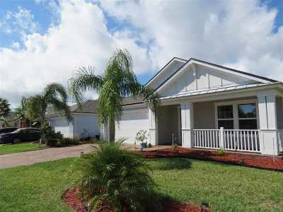 St Augustine Single Family Home For Sale: 135 Ocean Cay Blvd.