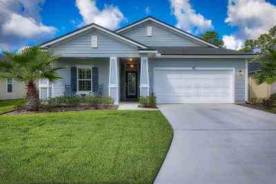 St Augustine Single Family Home For Sale: 99 Grey Hawk Dr