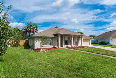 St Augustine Single Family Home For Sale: 280 Deportivo Drive
