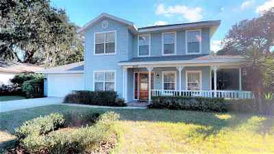 St Augustine Beach FL Single Family Home For Sale: $430,000