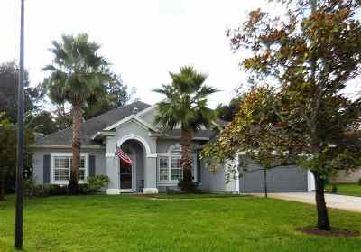 St Augustine Single Family Home For Sale: 376 Summer Cove Circle