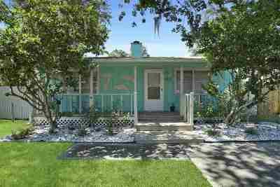 Atlantic Beach Single Family Home For Sale: 1212 Jasmine St