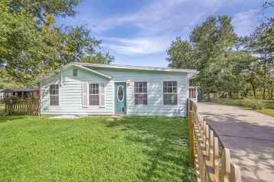 Jacksonville Single Family Home For Sale: 1889 Faye Rd