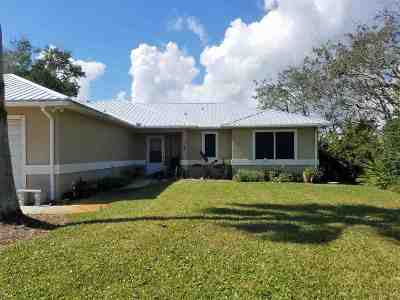 St Augustine FL Single Family Home For Sale: $329,000