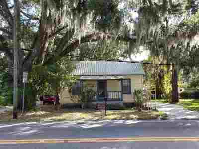 St Augustine FL Single Family Home For Sale: $129,000