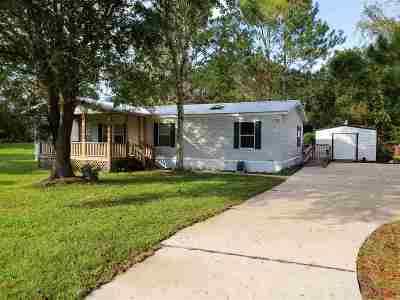 St Augustine FL Single Family Home For Sale: $140,000