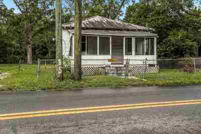 St Augustine FL Single Family Home For Sale: $70,000