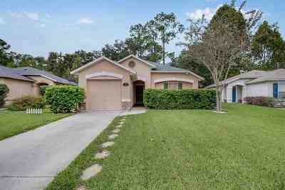 St Augustine FL Single Family Home For Sale: $189,500