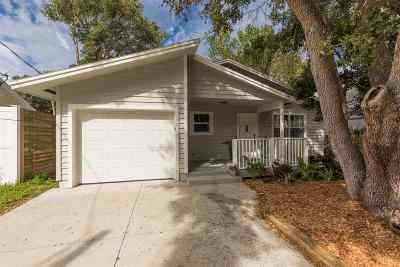 St Augustine Beach Single Family Home For Sale: 214 1st Street