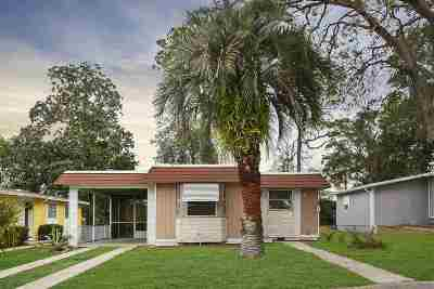 St Augustine Single Family Home For Sale: 144 Deltona Blvd