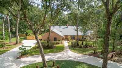 St Augustine Single Family Home Conting_accpt Backups: 4232 Wicks Branch Rd