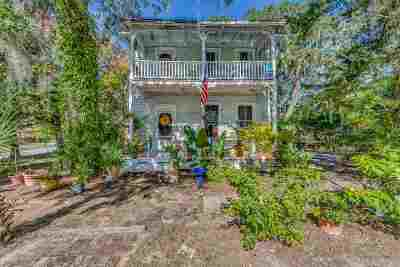 St Augustine FL Single Family Home For Sale: $469,000