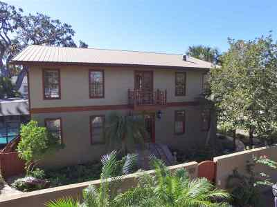 St Augustine Single Family Home For Sale: 49 1/2 Carrera Street