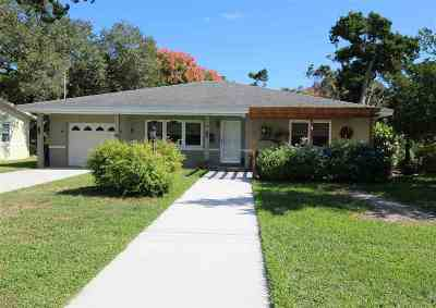 Davis Shores Single Family Home For Sale: 22 Coquina Ave