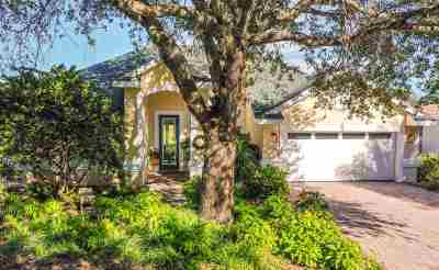 St Augustine Single Family Home For Sale: 984 Fish Island Pl