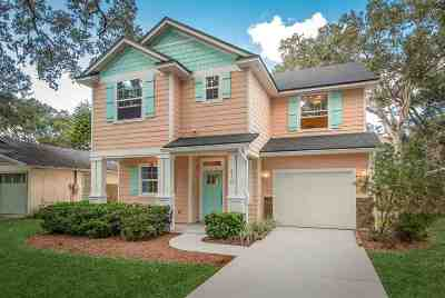 St Augustine Beach Single Family Home For Sale: 410 F Street