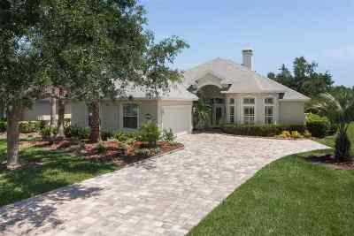 St Augustine Single Family Home For Sale: 317 Marshside Dr. N