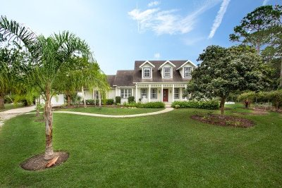 St Augustine Single Family Home For Sale: 6912 Cypress Lake Ct