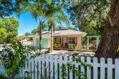 Davis Shores Single Family Home For Sale: 132 Menendez Road