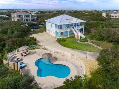 St Augustine Single Family Home For Sale: 4415 Coastal Highway