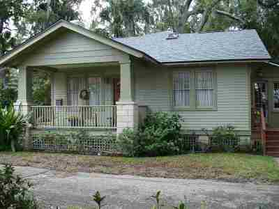 St Augustine Single Family Home For Sale: 16-1/2 Carrera Street