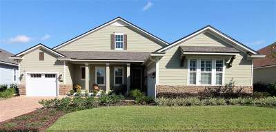 St Augustine Single Family Home For Sale: 199 Haas