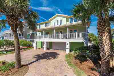 St Augustine Beach Single Family Home For Sale: 6 12th Street