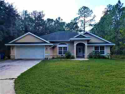 St Augustine FL Single Family Home For Sale: $243,000
