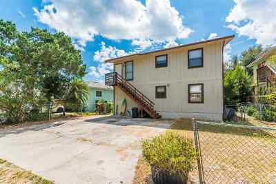 St Augustine Multi Family Home For Sale: 207 9th Street