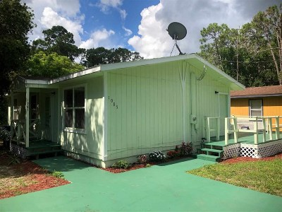St Augustine FL Single Family Home For Sale: $139,500