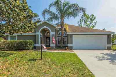 St Augustine Single Family Home For Sale: 5 Egret Crest Lane