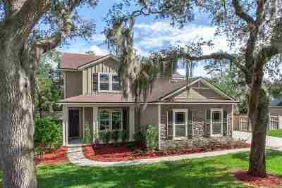 St Augustine Single Family Home For Sale: 3504 Carolwood Lane