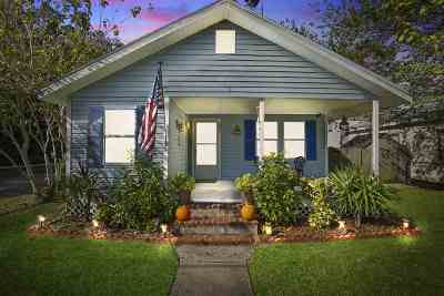 St Augustine Single Family Home For Sale: S 881 Whitney