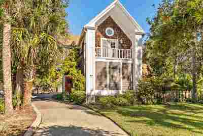 Davis Shores Single Family Home For Sale: 54 Dolphin Drive