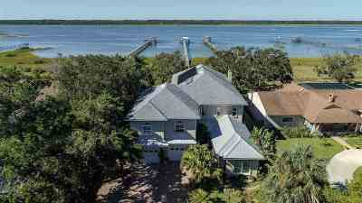 St Augustine FL Single Family Home For Sale: $1,475,000
