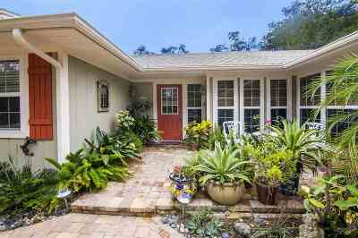 St Augustine FL Single Family Home For Sale: $425,000