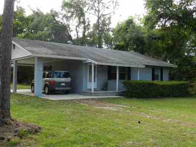 St Augustine FL Single Family Home For Sale: $177,000