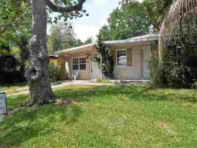St Augustine Single Family Home For Sale: 260 Spring St